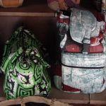 Des sacs en tissus africains