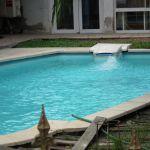 La piscine chauffante