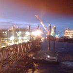 Oil night shift