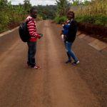 Route principale du village Bansoa